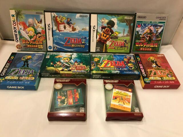 Lot Legend Of Zelda Link's Awakening Minish Cap Four Swords Triforce Nintendo Gb