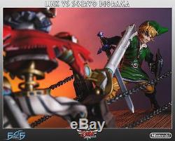 Loz Legend Of Zelda Skyward Sword Link Vs Scervo Diorama Statue First 4 Figures