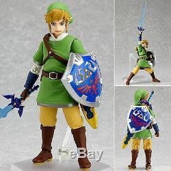 MAX Factory Figma 153 The Legend of Zelda Skyward Sword Link Figure Genuine