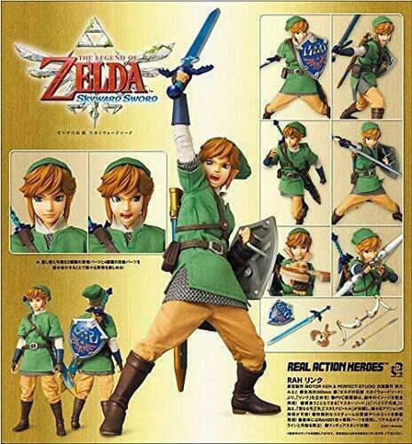 Medicom Legend Zelda Link Skyward Sword 30cm 1/6 Figur Wii Breathe Of The Wild
