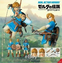 Medicom Real Action Heroes The Legend Of Zelda Breath Of The Wild Link Nuovo New