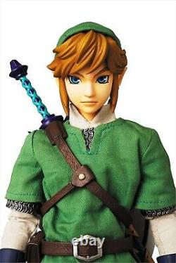 Medicom Toy RAH The Legend of Zelda Skyward Sword Link Real Action Hero Figure