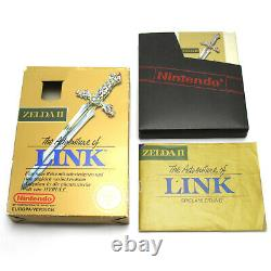 NES Legend of Zelda II / 2 Adventure of Link PAL-B mit OVP sehr guter Zustand