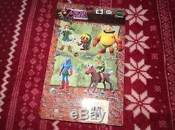 NEW 2001 Epoch Legend of Zelda Majora's Mask ZORA LINK Figure Nintendo