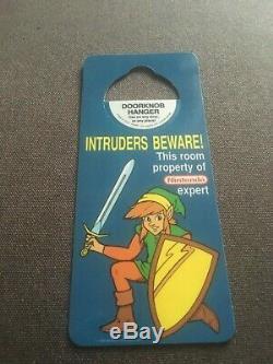 NEW Antioch Doorknob hanger Legend of Zelda 2 Adventure of Link 1989 vintage