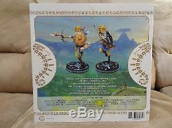 NEW Legend of Zelda Breath of the Wild Link 10 PVC Painted Premium Statue