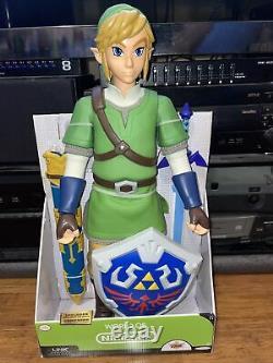 NEW Legend of Zelda Link Action Figure 20 inch World of Nintendo Skyward Sword