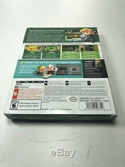 NEW Legend of Zelda Link's Awakening DREAMER EDITION Nintendo Switch Box Damage