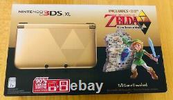 NEW Nintendo 3DS XL The Legend of Zelda A Link Between Worlds Console + Game