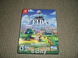 NEW SEALED Legend of Zelda Link's Awakening DREAMER EDITION Nintendo Switch Game