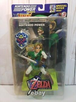 NEW The Legend of Zelda Link Figure Nintendo Power Joyride N64 2002