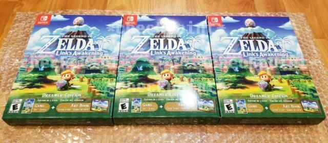 New The Legend Of Zelda Link's Awakening Dreamer Edition -nintendo Switch Sealed