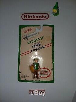 NIB RARE Vintage Nintendo Legend of Zelda LINK Figure PVC 1989 NES Applause