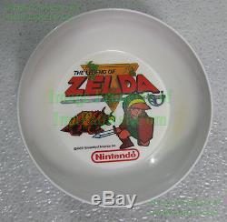 NITF! LINK Legend of Zelda Nintendo Cereal Bowl 1989 Made USA Peter Pan + Bonus