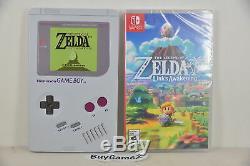 NS Switch Lite Legend of Zelda Link's Awakening (US Limited Steelbook Edition)