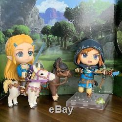 Nendoroid Legend Of Zelda Link Breath Of The Wild DX Edition & Zelda GOOD SMILE