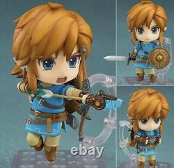 Nendoroid The Legend Of Zelda BOTW Link #733 Good Smile Company Euc