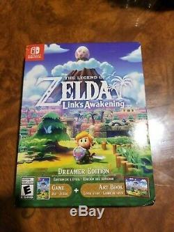 New Legend of Zelda Link's Awakening Nintendo Switch, 2019, Dreamer Edition