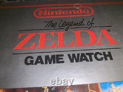 New Old Stock Mint Nelsonic Unused Nintendo Red Legend of Zelda Game Watch