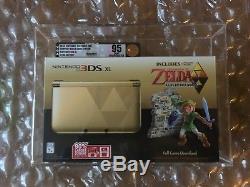 New Sealed Legend Of Zelda A Link Between Worlds Nintendo 3ds XL Vga Graded 95