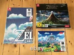 New Sealed Legend Of Zelda Links Awakening Nintendo Switch Uk Limited Edition