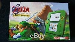 Nintendo 2DS CONSOLE Link Edition with The Legend of Zelda Ocarina of Time 3D