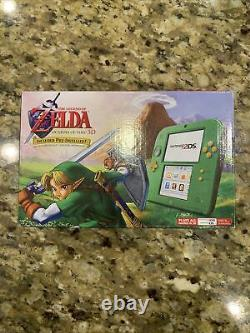 Nintendo 2DS CONSOLE Link Edition with The Legend of Zelda Ocarina of Time A1
