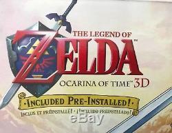 Nintendo 2DS Green Link Limited Edition -The Legend of Zelda Ocarina of Time NIB