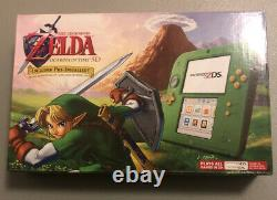 Nintendo 2DS Legend Of Zelda Link Green Limited Edition WithOcarina Of Time