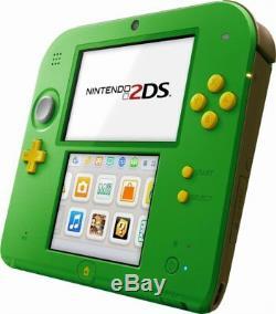 Nintendo 2DS Legend of Zelda Ocarina Time Limited Edition Green Link System