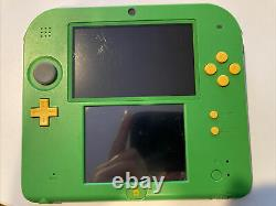Nintendo 2DS Legend of Zelda Ocarina of Time 3D Link Green Handheld Console