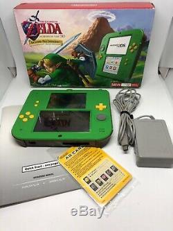 Nintendo 2DS Link Edition Legend Of Zelda Ocarina Of Time Pre-Installed Complete