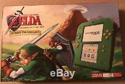 Nintendo 2DS Link Edition with The Legend of Zelda Ocarina of Time 3D