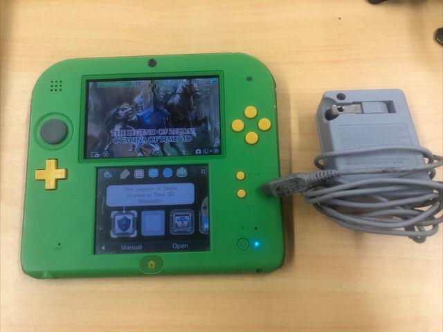 Nintendo 2ds Link Edition The Legend Of Zelda Ocarina Of Time 3d + Charger