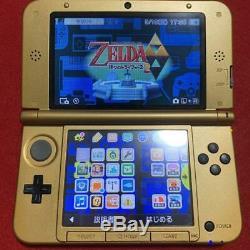 Nintendo 3DS LL The Legend of Zelda A Link Between Worlds Limited Edition