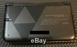 Nintendo 3DS XL Console Legend of Zelda A Link Between Worlds Special Edition