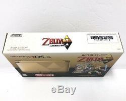 Nintendo 3DS XL Legend Zelda Link Between Worlds CONSOLE +Oracle Ages NEW Open