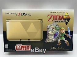 Nintendo 3DS XL Legend of Zelda A Link Between Worlds Console with BOX COVER