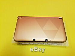 Nintendo 3DS XL Legend of Zelda A Link Between Worlds Console with Games Nice