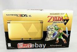 Nintendo 3DS XL Legend of Zelda A Link Between Worlds Edition Console w. Case
