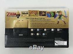 Nintendo 3DS XL Legend of Zelda Link Between Worlds Console New & Sealed MINT