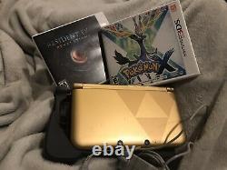 Nintendo 3DS XL Limited Edition The Legend of Zelda A Link Between Worlds