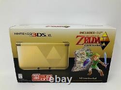 Nintendo 3DS XL Limited Edition The Legend of Zelda A link Between World