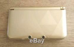 Nintendo 3DS XL The Legend of Zelda A Link Between Worlds Limited Edition F/S