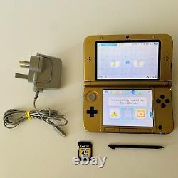 Nintendo 3DS XL The Legend of Zelda A Link Between Worlds Limited Edition Rare
