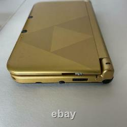 Nintendo 3DS XL The Legend of Zelda A Link Between Worlds Limited Edition withBOX