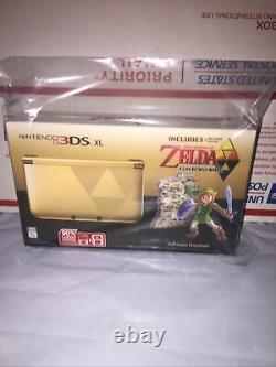 Nintendo 3DS XL The Legend of Zelda A Link Between Worlds SEALED NEW IN BOX
