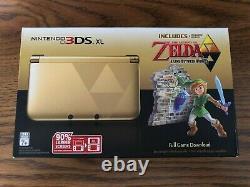 Nintendo 3DS XL The Legend of Zelda A link Between Worlds Edition NTSC-U/C New