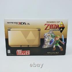 Nintendo 3DS XL The Legend of Zelda Link Between Worlds Edition Handheld System