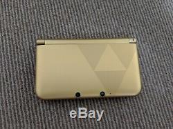 Nintendo 3ds XL The Legend Of Zelda A Link Between World Version Boxed + Extras